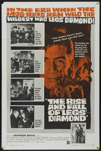 """The Rise and Fall of 'Legs' Diamond (Warner Brothers, 1960). One Sheet (27"""" X 41""""). Crime"""