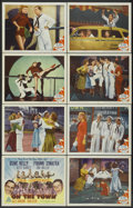 "Movie Posters:Musical, On the Town (MGM, 1949). Lobby Card Set of 8 (11"" X 14""). Musical.... (Total: 8 Items)"