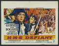 "Movie Posters:Adventure, Damn the Defiant! (Columbia, 1962). Belgian (14"" X 22"").Adventure...."