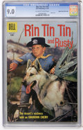 Silver Age (1956-1969):Adventure, Rin Tin Tin #19 Mile High pedigree (Dell, 1957) CGC VF/NM 9.0 Off-white to white pages....