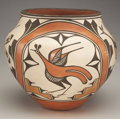 Other, A ZIA POLYCHROME JAR. Sofia and Lois Medina. c. 1985...