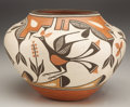 American Indian Art:Pottery, A ZIA POLYCHROME JAR. Sofia and Lois Medina. c. 1985...