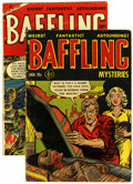 Golden Age (1938-1955):Horror, Baffling Mysteries #13 and 17 Group (Ace, 1953) Condition: AverageGD+.... (Total: 2 Comic Books)