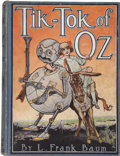Books:Children's Books, L. Frank Baum. Tik-Tok of Oz. Illustrated by John R. Neill.Chicago: The Reilly & Britton Co., [1914]....