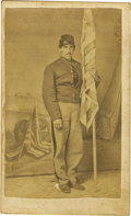 Photography:CDVs, Union Color Bearer Carte de Visite,...