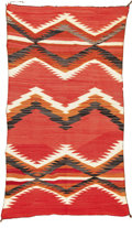 American Indian Art:Weavings, A NAVAJO TRANSITIONAL WEAVING. c. 1910...
