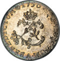 Colonials, 1756-A SOU M French Colonies Sou Marque MS64 PCGS....