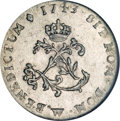 Colonials, 1743-W SOU M French Colonies Sou Marque MS64 NGC....