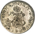 Colonials, 1741-BB SOU M French Colonies Sou Marque MS63 PCGS....