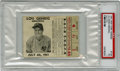 Baseball Collectibles:Tickets, 1941 Lou Gehrig Memorial Ticket Stub, PSA PR 1. While July 4 doesmark the day that we use to celebrate this nation's day o...