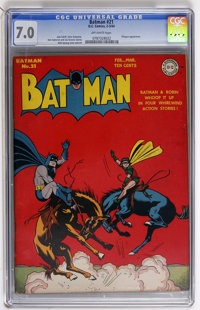 Batman #21 (DC, 1944) CGC FN/VF 7.0 Off-white pages