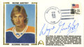 Hockey Collectibles:Others, Wayne Gretzky Signed First Day Cover. Wayne Gretzky's introduction to the NHL saw a parade of records fall in his wake. Wi...