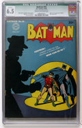 Golden Age (1938-1955):Superhero, Batman #16 (DC, 1943) CGC Qualified FN+ 6.5 Cream to off-white pages....