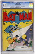 Golden Age (1938-1955):Superhero, Batman #14 (DC, 1943) CGC VG/FN 5.0 Cream to off-white pages....