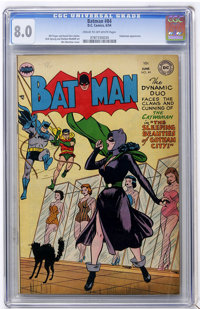 Batman #84 (DC, 1954) CGC VF 8.0 Cream to off-white pages