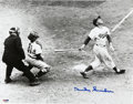 """Autographs:Photos, Duke Snider Signed Photograph Oversized. The 11x14"""" black and whitephotograph of Duke Snider carries the neat, concise, an..."""