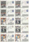 Autographs:Others, Rusty Staub Signed First Day Covers Lot of 10. Rusty Staub was a popular slugger during his time with the Mets, celebrated ...