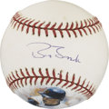 Autographs:Baseballs, Barry Bonds Hand Painted Single Signed Baseball. From theexceptional hand-painted series created by artist Jolene Jessiew...