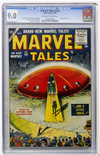 Marvel Tales #134 (Atlas, 1955) CGC VF/NM 9.0 Off-white to white pages