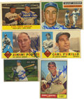 Autographs:Sports Cards, Group of Dodgers Single Signed Baseball Cards Lot of 6. The storiedBrooklyn and Los Angeles Dodgers organization is repres...