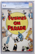 Platinum Age (1897-1937):Miscellaneous, Funnies On Parade #nn (Eastern Color, 1933) CGC VG/FN 5.0 Cream to off-white pages....