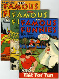 Golden Age (1938-1955):Miscellaneous, Famous Funnies File Copies Group (Eastern Color, 1946-53) Condition: Average VF.... (Total: 16 Comic Books)