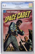 Golden Age (1938-1955):Science Fiction, Tom Corbett Space Cadet #7 File Copy (Dell, 1953) CGC VF+ 8.5Off-white pages....