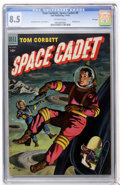 Golden Age (1938-1955):Science Fiction, Tom Corbett Space Cadet #9 File Copy (Dell, 1954) CGC VF+ 8.5Off-white pages....