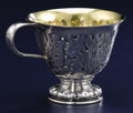 Silver Holloware, American:Cups, AN AMERICAN SILVER AND SILVER GILT PUNCH CUP. Tiffany & Co.,New York, New York, 1906. Marks: TIFFANY & CO., 16836 MAKERS...