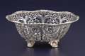 Silver Holloware, American:Bowls, AN AMERICAN SILVER RETICULATED BOWL. J.E. Caldwell & Co.,Philadelphia, Pennsylvania, circa 1900. Marks: JE CALDWELL &CO,...
