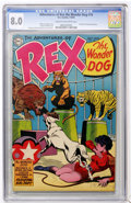 Golden Age (1938-1955):Miscellaneous, Adventures of Rex the Wonder Dog #16 File Copy (DC, 1954) CGC VF 8.0 Cream to off-white pages....