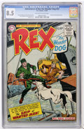 Golden Age (1938-1955):Miscellaneous, Adventures of Rex the Wonder Dog #22 (DC, 1955) CGC VF+ 8.5 Off-white to white pages....