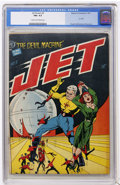 Golden Age (1938-1955):Science Fiction, Jet Powers #3 (Magazine Enterprises, 1951) CGC FN+ 6.5 Cream tooff-white pages....