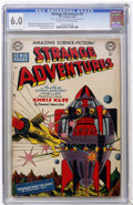 Golden Age (1938-1955):Science Fiction, Strange Adventures #3 (DC, 1950) CGC FN 6.0 Cream to off-whitepages....