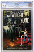 Silver Age (1956-1969):Horror, Twilight Zone #12 (Gold Key, 1965) CGC NM- 9.2 Off-white to whitepages....