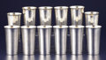 Silver Holloware, American:Julep Cups, A SET OF TWELVE AMERICAN COCKTAIL CUPS. Frank M. Whiting &Company, North Attleboro, Massachusetts, circa 1930. Marks:STE... (Total: 12 Items)