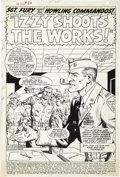 Original Comic Art:Splash Pages, Dick Ayers and John Severin - Sgt. Fury #54, Splash Page 1 OriginalArt (Marvel, 1968)....