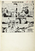 Original Comic Art:Panel Pages, Joe Kubert - The Brave and the Bold #34, page 25, First Silver AgeHawkman Original Art (DC, 1961)....