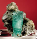 Minerals:Cabinet Specimens, EMERALD IN MATRIX. ...
