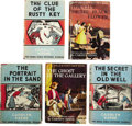 Books:Children's Books, Carolyn Keene. Five Dana Girls Mystery Stories from 1942-1956,including:... (Total: 5 Items)