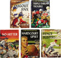 Books:Children's Books, Clair Bee. Five Chip Hilton Sports Stories, including:... (Total: 5Items)