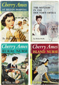 Books:Children's Books, Helen Wells. Four Later Cherry Ames Books, including:... (Total: 4Items)