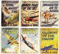 Books:Children's Books, Franklin W. Dixon. Six Ted Scott Flying Stories, including:...(Total: 6 Items)