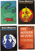 Books:Fiction, Yukio Mishima. Four First American Editions, including:... (Total:4 Items)
