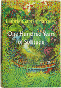 Books:First Editions, Gabriel García Márquez. One Hundred Years of Solitude.Translated from the Spanish by Gregory Rabassa. New York: Har...