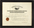 Autographs:U.S. Presidents, Franklin D. Roosevelt Signed Appointment. ...