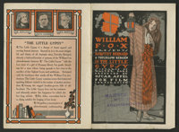 "The Little Gypsy (Fox, 1915). Herald (5.5"" X 8""). Drama"