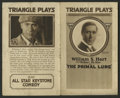 "Movie Posters:Drama, The Primal Lure (Triangle, 1916). Herald (5"" X 8.25""). Drama...."
