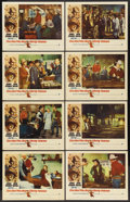 "Movie Posters:Western, The Man Who Shot Liberty Valance (Paramount, 1962). Lobby Card Set of 8 (11"" X 14""). Western.... (Total: 8 Items)"