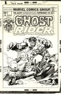 Original Comic Art:Covers, Gil Kane and Tom Palmer - Ghost Rider #11 Cover Original Art(Marvel, 1975)....